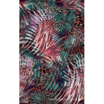 Digital Print Nylon Fabric for Swimsuit (ASQ087)