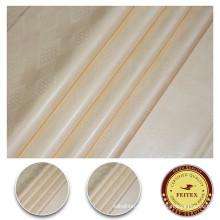 2017 молочный Цвет хлопок текстильной ткани горячий продавать текстильного материала FEITEX Shadda дамасской для африканских одежда