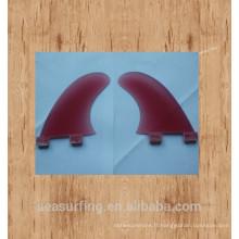 2016 nouveau quart Fiberglass FCS G5 Style Surf Fins / carbone G3 surf ailettes