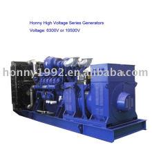 Gerador diesel de alta tensão (HV) 6300V-11000V