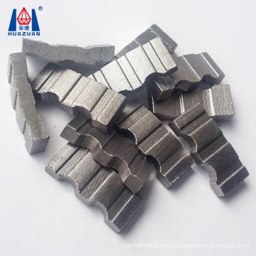 Turbo Shape Diamond Segment Core Drill Bit Segment