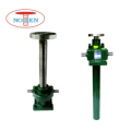 Mini mechanical screw jack for printing equipment