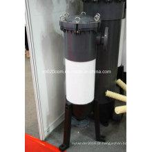 Carcaça do filtro do saco do PVC para o equipamento de tratamento de água