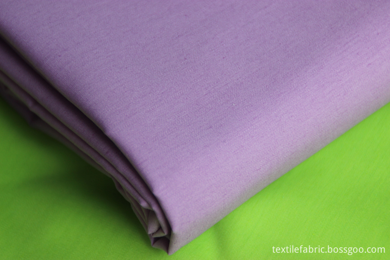 TC dyed woven poplin fabric