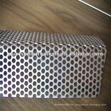 Metales Perforados para filtro