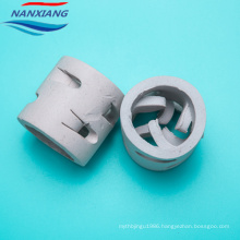 High acid resistance ceramic Pall Ring