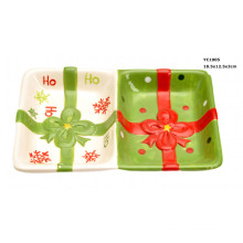 Ceramic Candy and Nuts Dishes for Christmas