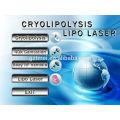 Portable cryo corpo emagrecimento cryolipolysis lipo laser cryolipolysis máquina novos produtos 2014
