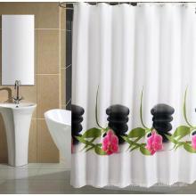 Rideau de douche en nylon, rideau de bain en nylon, rideau de salle de bain en nylon, tissu rideau en nylon