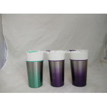 wholesale ceramic mug double wall travel mug