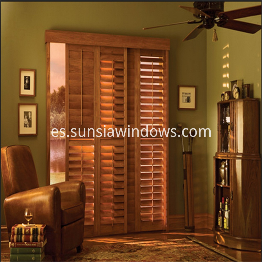 plantation shutters for sliding doors 3