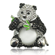 Fashion 2016 Style New Arrival Lovely Panda Brooch