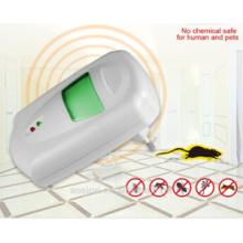 Repelente de plagas electromagnético y repelente de mosquitos con luz nocturna
