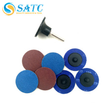 Low price of 50 mm quick change disc abrasive made in China About