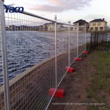 feuerverzinktem temporären Zaun zum Verkauf billig Australien temporäre Fechten China-Fabrik
