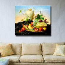 Pintura na lona para a fruta
