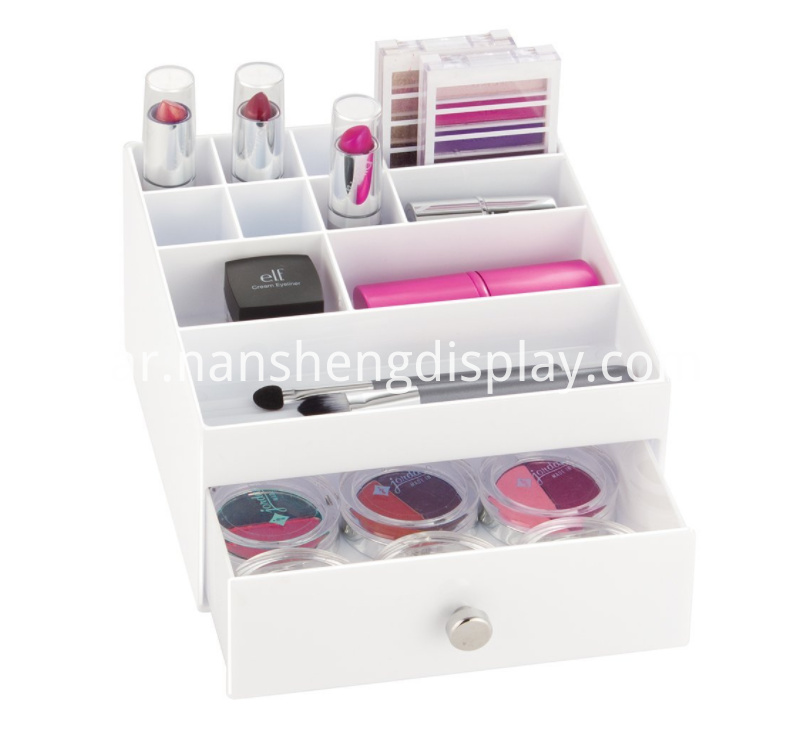 Cosmetic Makeup Storage Organizer With Drawer