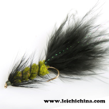 Топ-класс Стример Fly Woolly Bugger