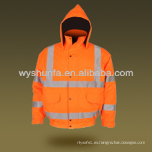 Safety hi visibility Warning Reflectante ANSI EN471 Chaqueta