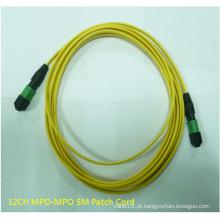 Fibra Óptica MPO-MPO Patch Cord