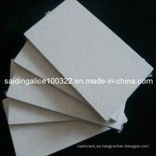 Tejidos acústicos de fibra mineral de superficie de tela (SGS, Clase B resistente al fuego)