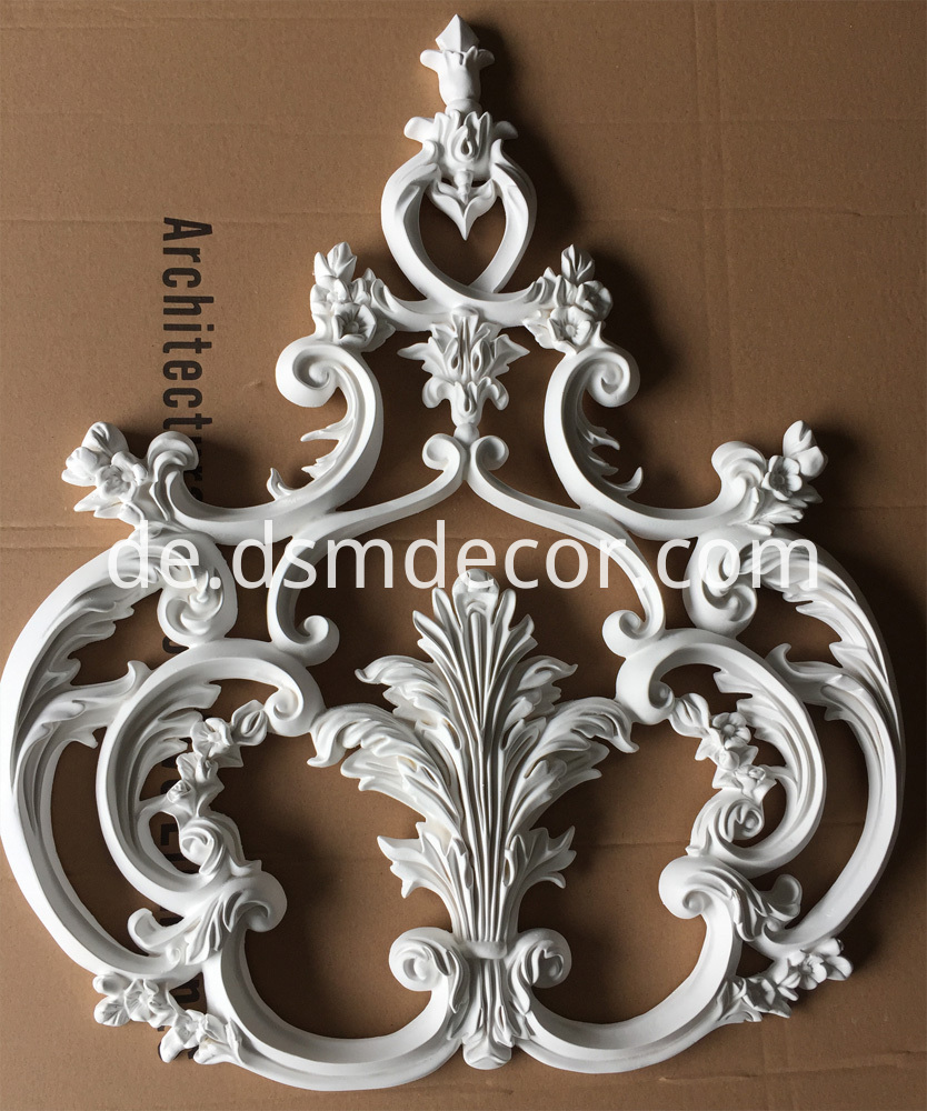Best Selling Architectural PU Wall Ornament