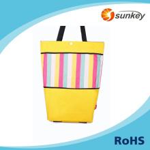 fashion foldable trolley luggages