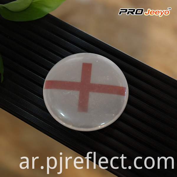 Reflective High Visibility Security England Flag Badge