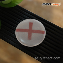 Reflekterande High Visibility Security England Flag Badge