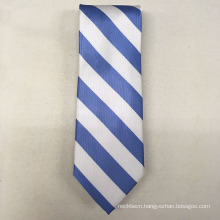 Your Own Brand Hand Made Italian Silk Signature Solid Stripe Neck Ties for Men