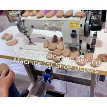 Gathering Sewing Machine for Shoe Uppers