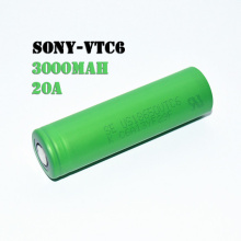 18650 laddningsbart batteri Vtc6 3000mah