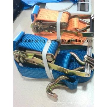Ratchet Lashing Tie Down Strap/Lashing Tie Down World Hot Sales