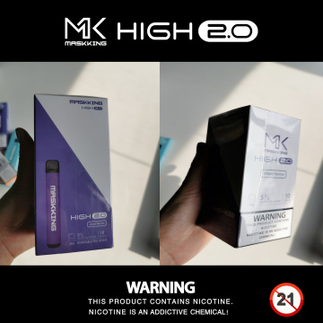 Maskking High 2.0 Ecig Vape Product Puff Bar Descartável