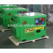 Generador portátil de generador diesel de 5KW con arranque eléctrico