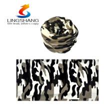 Nuevos productos calientes para el pañuelo de la cabeza al aire libre inconsútil de la bufanda 2016 del lingshang de la cachemira de múltiples funciones nueva