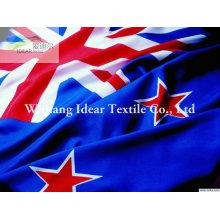 100% tela de poliéster de banderas nacionales