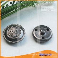 Spezial-Metall-Messing-Taste mit Schleife Rückseite BM1241