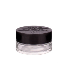 60ml eye cream glass cosmetic jar with child resistant lid