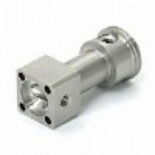 Edelstahl 304 316 316L CNC Drehpumpe Ventil Teil