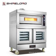 Los precios de fábrica de China Horno de pan de la máquina de cocción de gas comercial horno de panadería para la venta