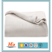 100 couverture thermique de gaufre d'hôpital de coton