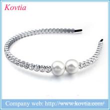 rhinestone hair bows wholesale hair accessories made in korea women pearl hair bows