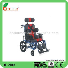 Aluminium Rollstuhl mit Kopfstütze