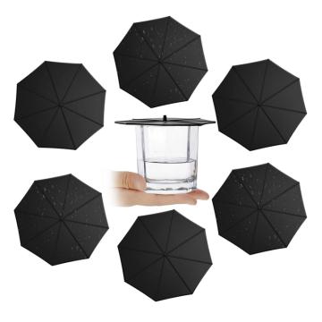 Tapas de silicona para paraguas antipolvo de grado alimenticio