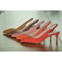 Chaussures de mariage pointues à talons hauts pour femmes