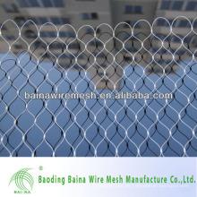 Malla de alambre de acero inoxidable de grado 7 * 7 de 7 mm 7 mm