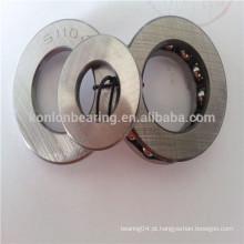 51102 51104 rolamento de esferas de aço inoxidável em aço cromado