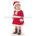 2017 In stock item hot sale red and green christmas family set clothes
