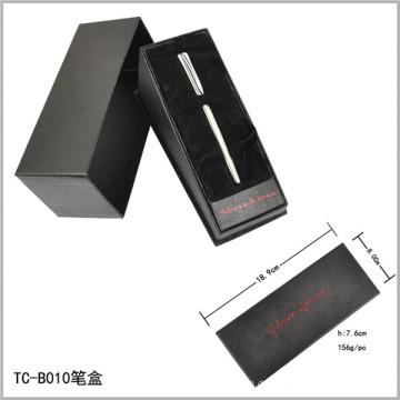 Dreieckige Form Samt Innere Öffnungsbox Kippstift Set Papierbox